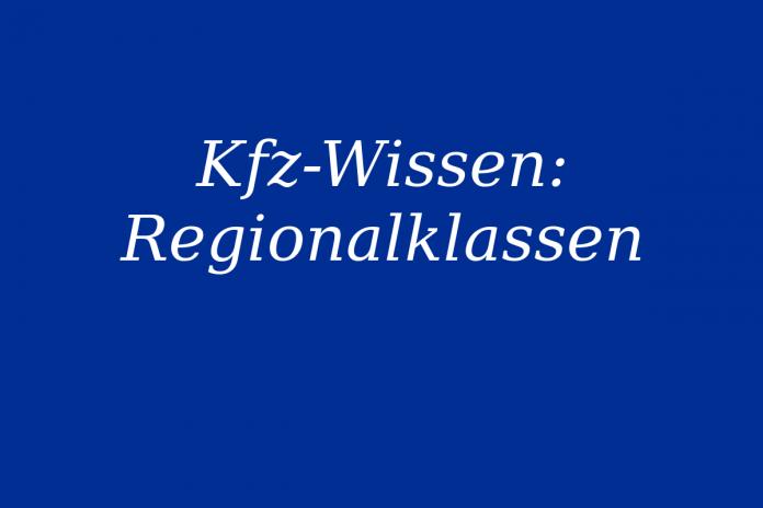 Infos zur Regionalklasse
